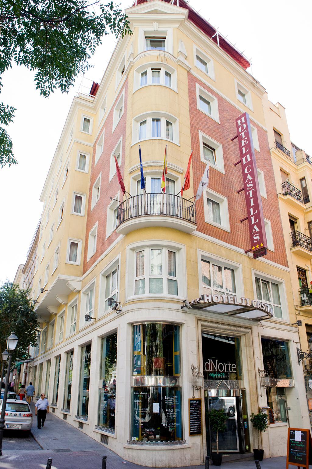 Afbeeldingsresultaat voor hotel il castillas madrid